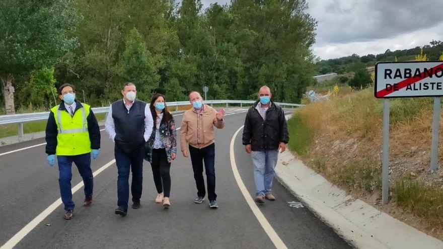 La obra en la carretera que une Sejas con Rábano da mayor seguridad al tramo