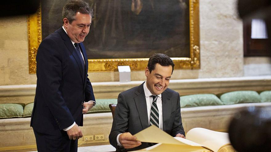 El PP saluda con ambigüedad al nuevo PSOE andaluz
