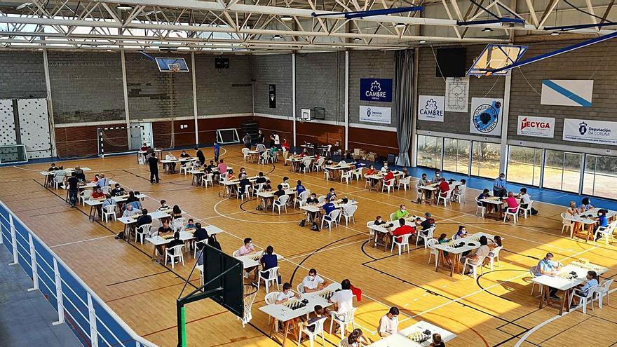 Aleksa Strikovic, vencedor en el torneo de ajedrez de Cambre