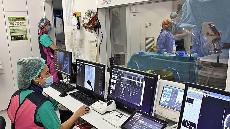 El Trueta amplia el servei de radiologia vascular intervencionista