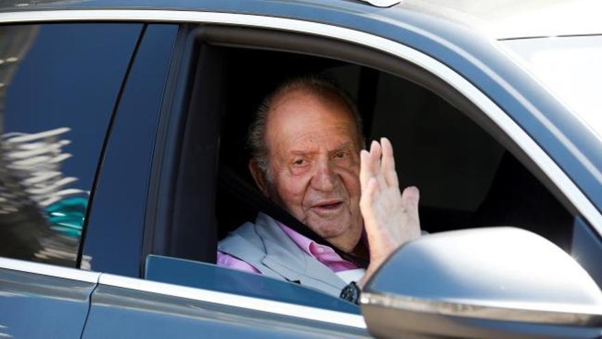 El rey emérito presenta a Hacienda una declaración y abona 678.393,72 euros