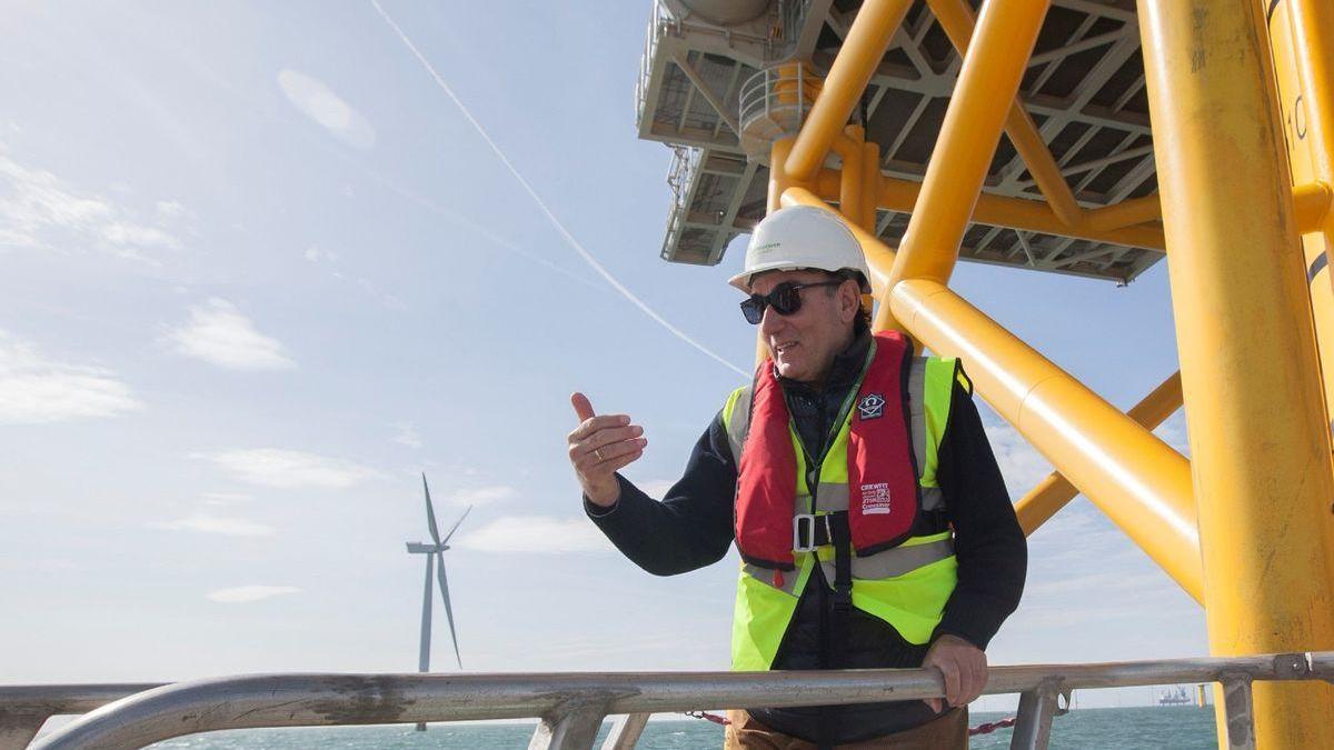 Iberdrola invertirá 1.000 millones de euros en el primer parque eólico marino de España