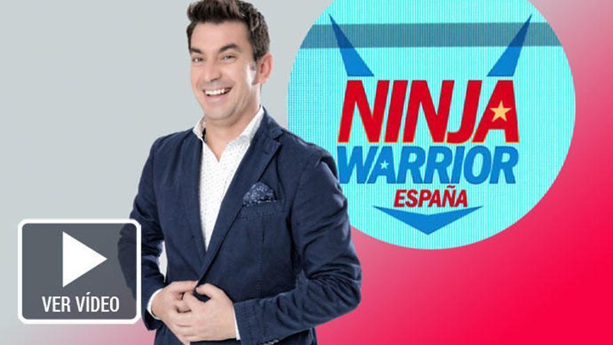 Arturo Valls, invadido por el espíritu 'Ninja Warrior'