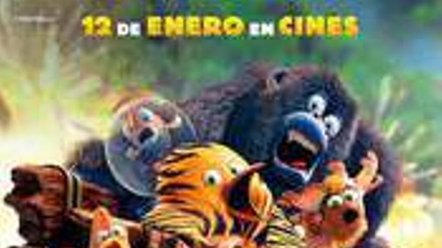 The Jungle Bunch - La panda de la selva