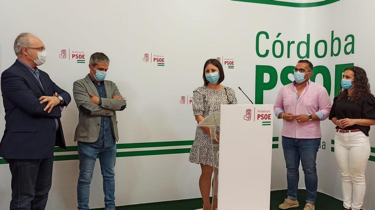 Los alcaldes de las ELA, con el parlamentario cordobés Juan Pablo Durán.
