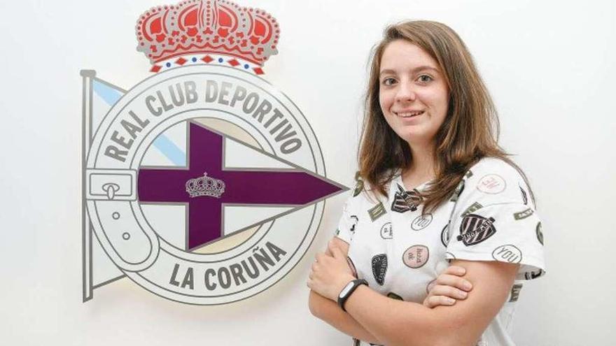 La defensa Patri Rúa, tercer fichaje para el Deportivo Abanca