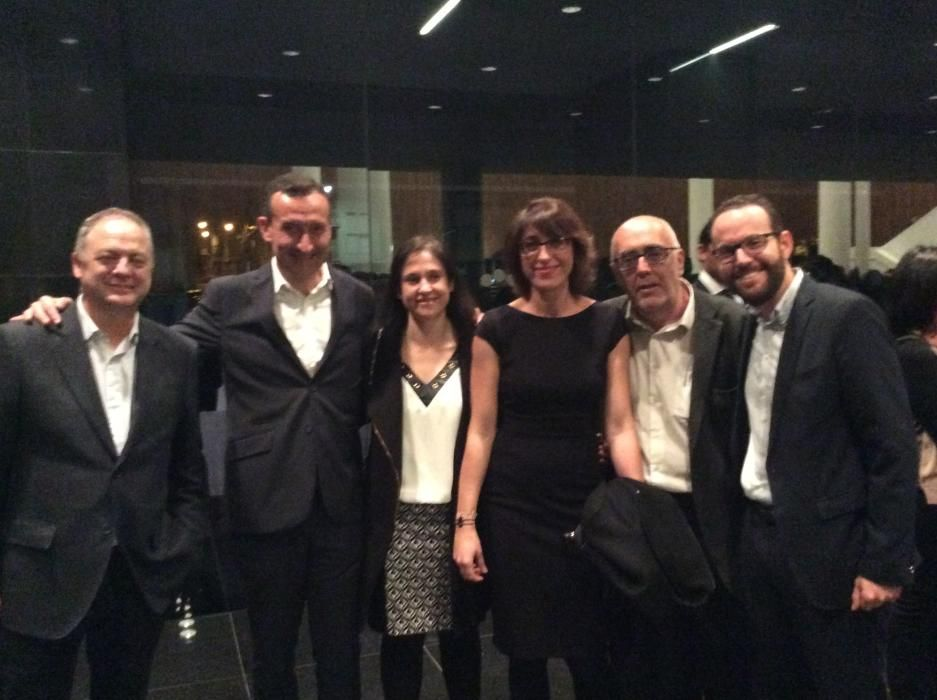 Carlos Sánchez, Carlos González, Ana Arabid, Patricia Macià, José Pérez y Héctor Diez; del ayuntamiento de Elche