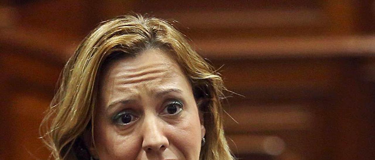 La diputada de CC y exconsejera de Hacienda, Rosa Dávila.     LP/DLP