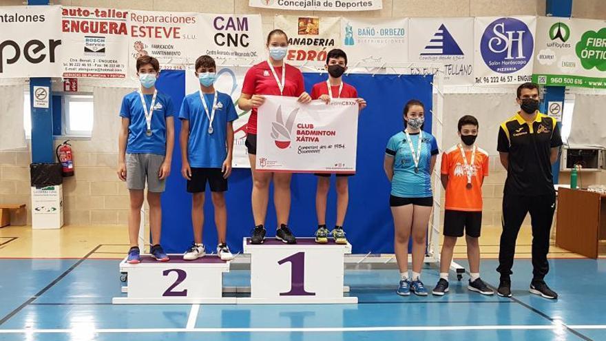 Sarai Ramón y Ximo Torres se proclaman campeones provinciales de dobles