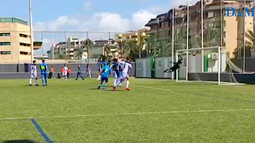 El increíble gol olímpico de Miquel Jaume para el Poblense