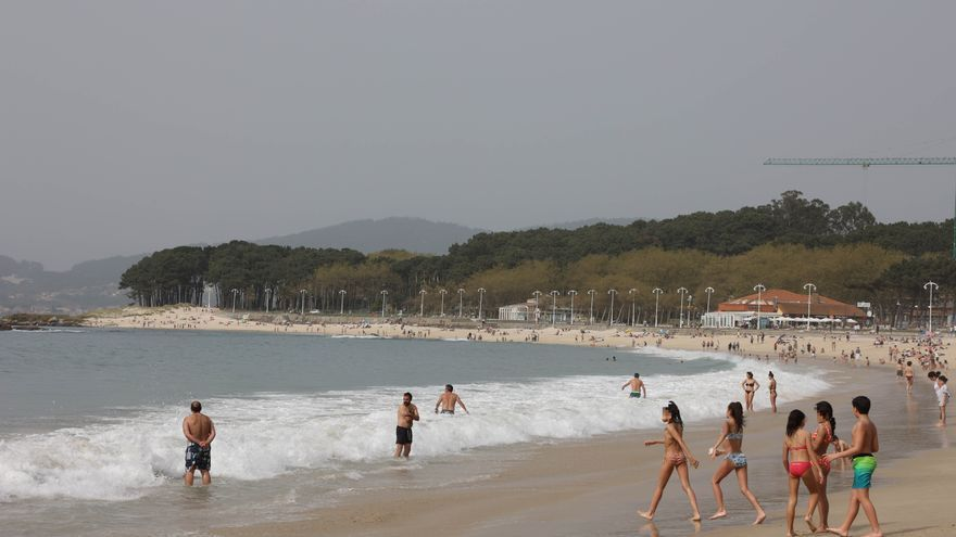 Galicia despidió marzo con las temperaturas más altas de las últimas dos décadas