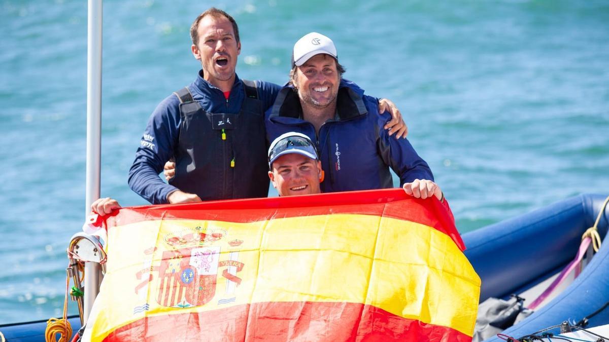 Joan Cardona se ha proclamado subcampeón del mundo de la clase Finn