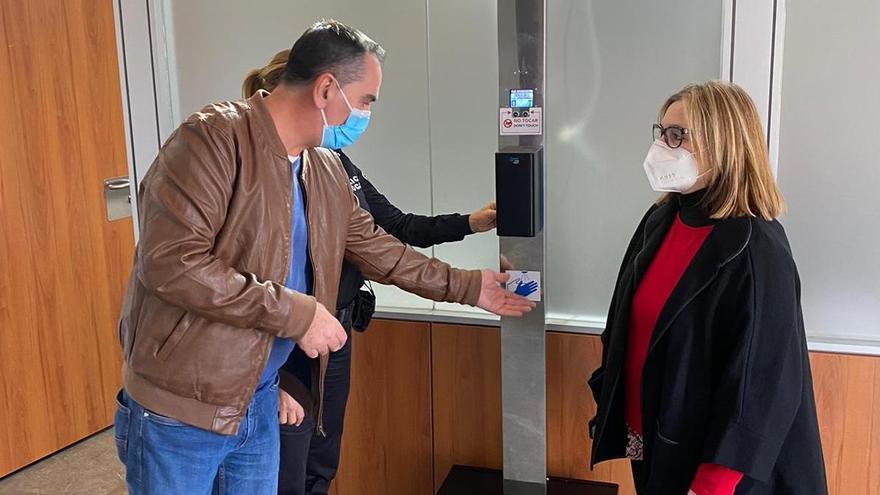 Llíria instala sensores de aforo y desinfección en los edificios públicos
