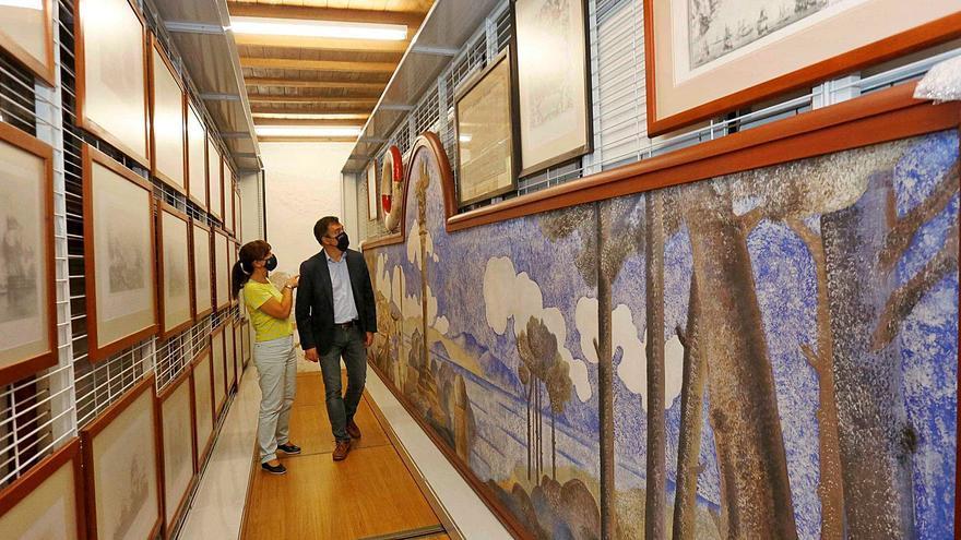 Cultura inicia la obra para ampliar el Museo Massó con una sala dedicada a Urbano Lugrís