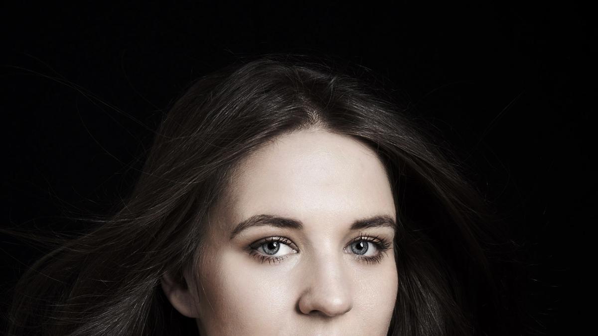 La soprano escandinava Lise Davidsen. Imatge cedida aquest 26 de juliol del 2021 (Horitzontal)