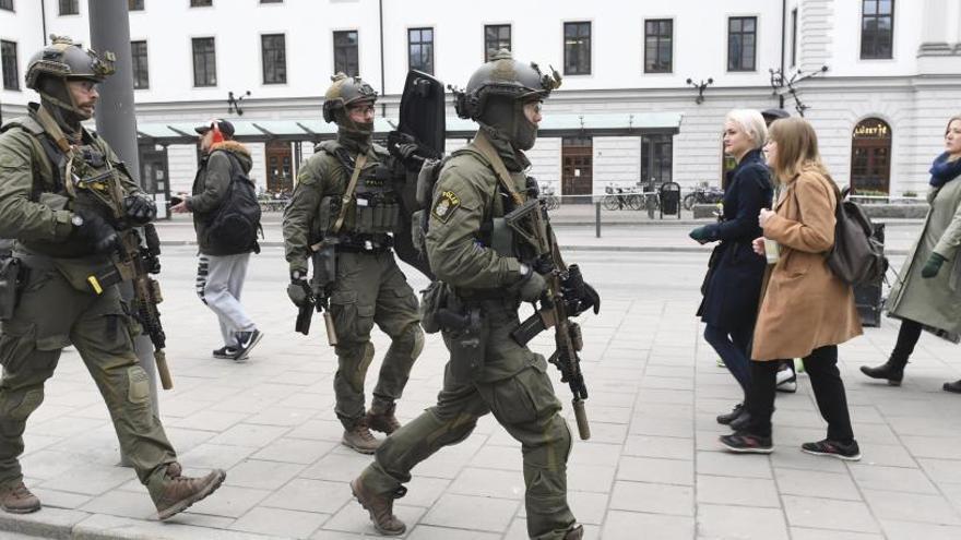 El presunto atacante de Estocolmo tenía una orden de expulsión de Suecia