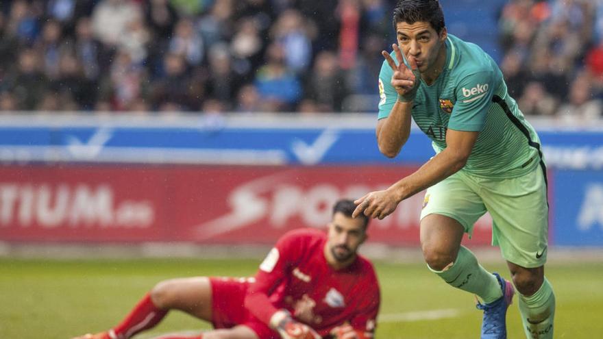 El Barça goleja l'Alavés