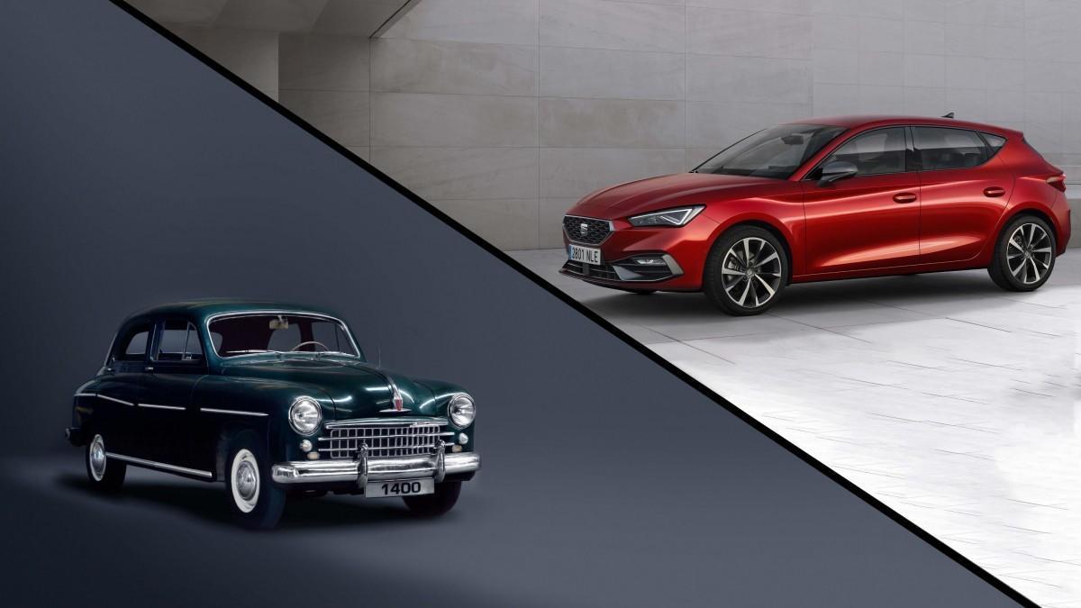 Los 15 modelos más icónicos de Seat: del Seat 1400 al nuevo Seat León 2020