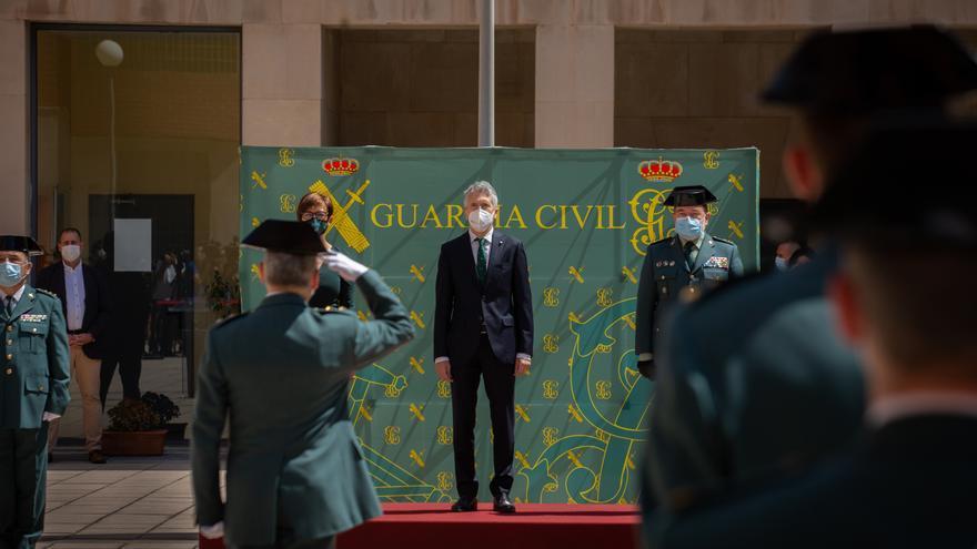 Grande-Marlaska preside en Córdoba el domingo el acto central por la festividad de la patrona de la Guardia Civil