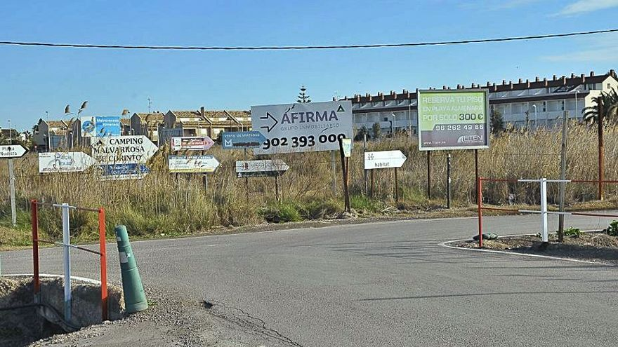 Sagunt eliminará puntos negros en Almardà tras años de demandas