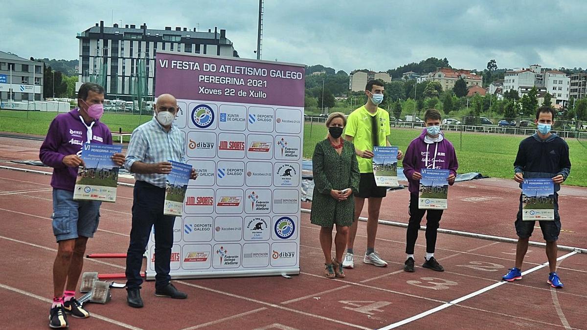 Presentación de la VI Festa do Atletismo en el CGTD. |  // RAFA VÁZQUEZ