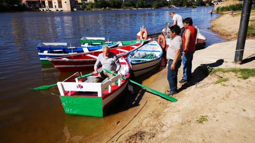 Las barcas de OIivares entrarán en funcionamiento este jueves