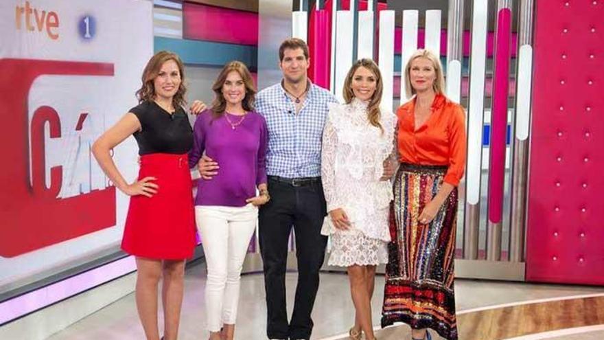 Lourdes Montes y Julián Contreras se estrenan en 'Corazón'
