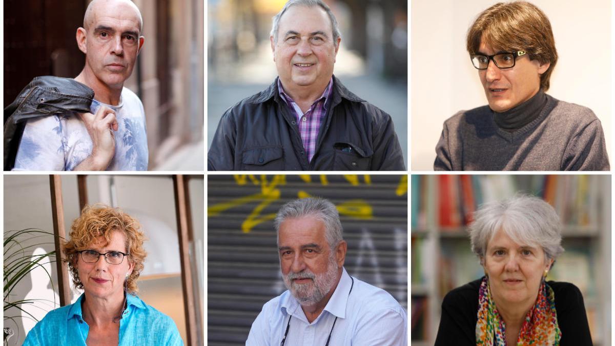 Alguns dels autors que firmaran llibre aquest Sant Jordi a Girona
