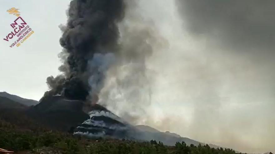 Time Lapse del volcán de La Palma
