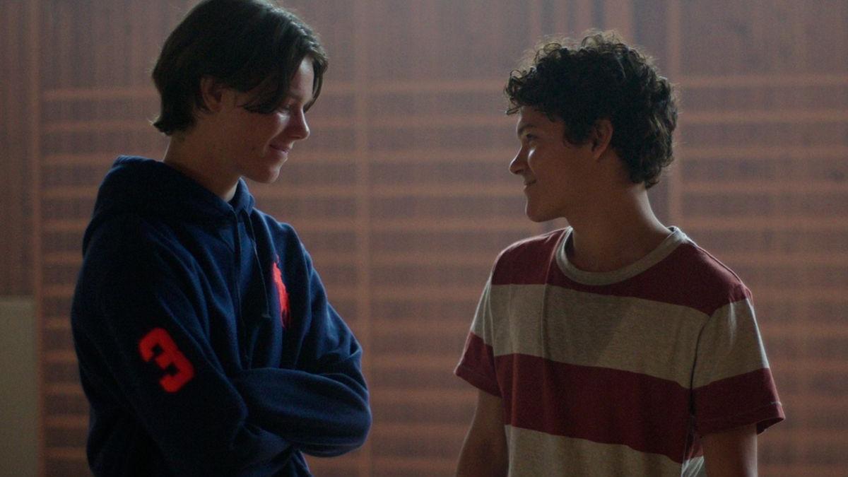 Edvin Ryving y Omar Rudberg en 'Jóvenes altezas'