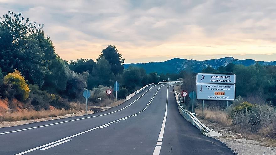 La Generalitat destina 1,6 millones de euros para mejoras en las carreteras del Baix Maestrat