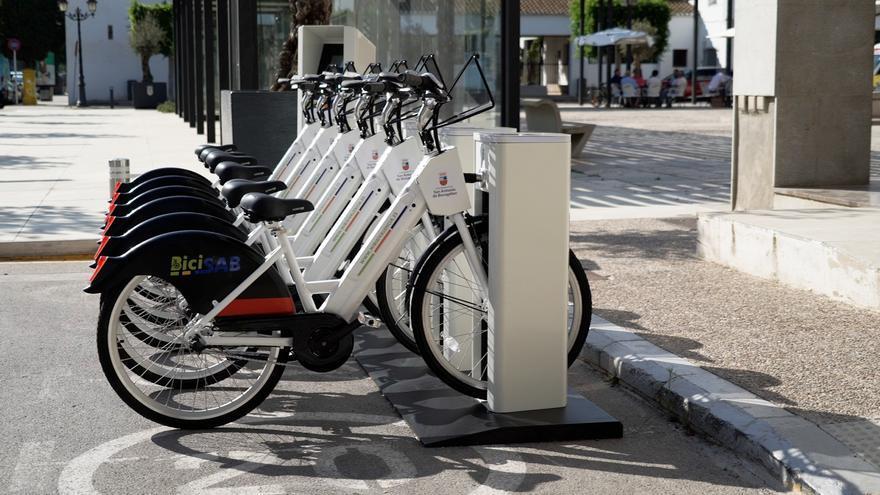 San Antonio de Benagéber inaugura el servicio público de bicicletas eléctricas