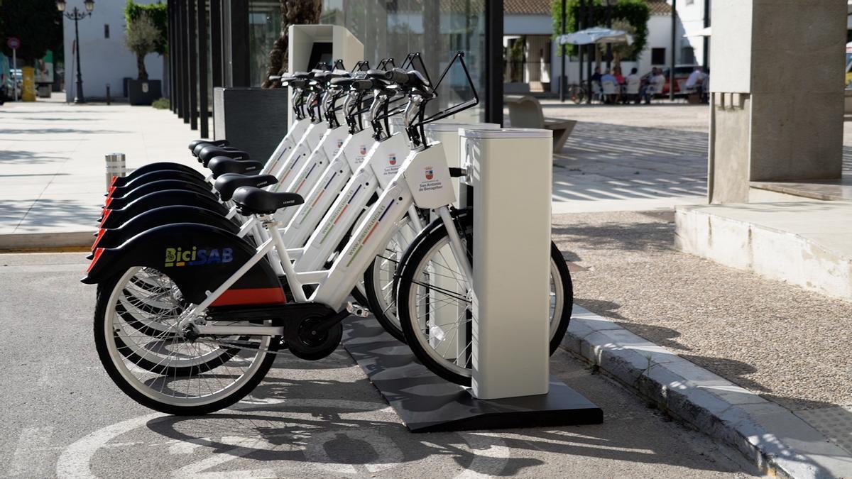 Biciletas eléctricas en San Antonio de Benagéber