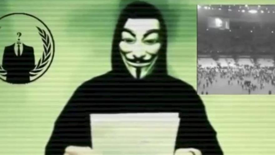 Anonymous amenaza al EI