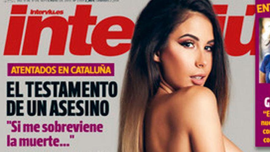 Lara Ruiz, exnovia del 'Rey Chatarrero', se desnuda en Interviú