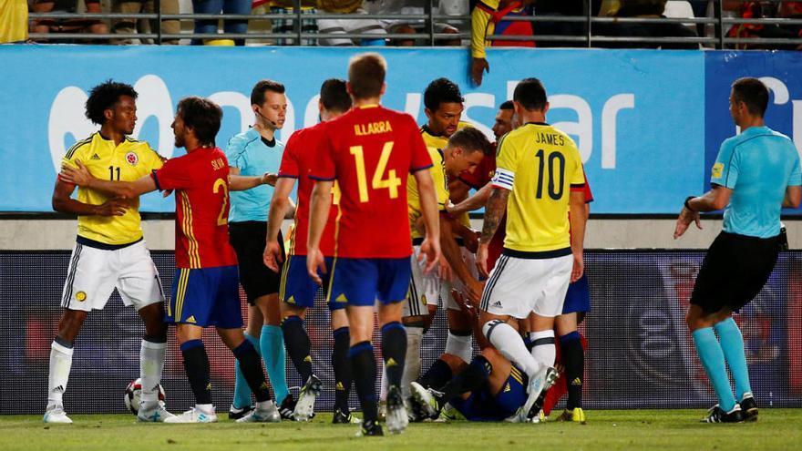 Aspas sigue dejando huella en la selección española
