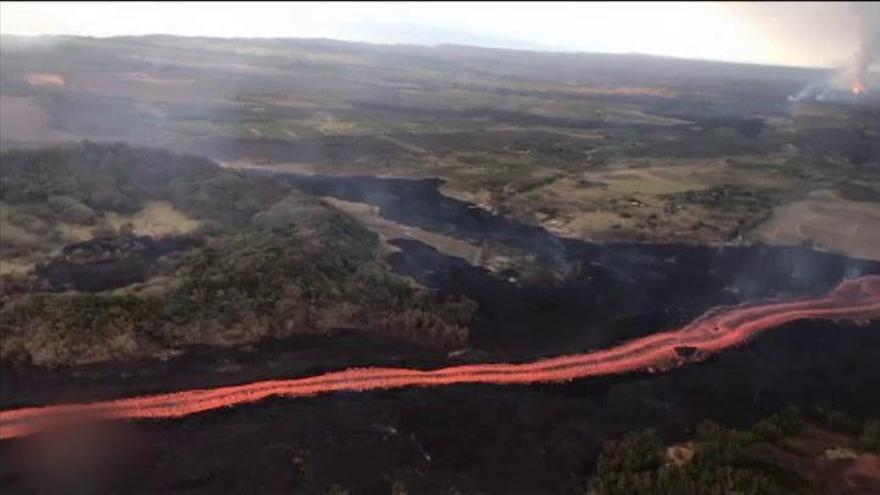 EEUU envía ayuda federal a los afectados por el volcán Kilauea en Hawái