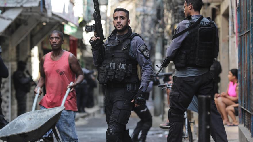 Al menos 25 muertos en una redada contra el narcotráfico en Río de Janeiro