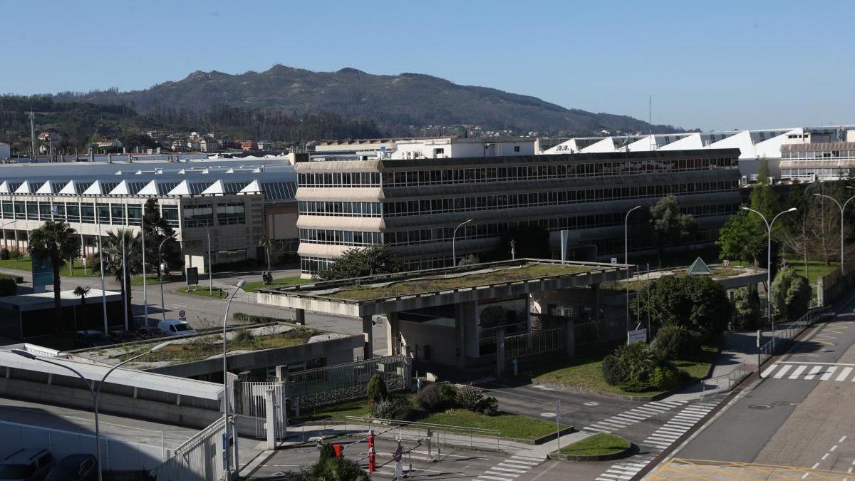 La planta de PSA Vigo, cerrada tras la aplicación del ERTE. // Ricardo Grobas