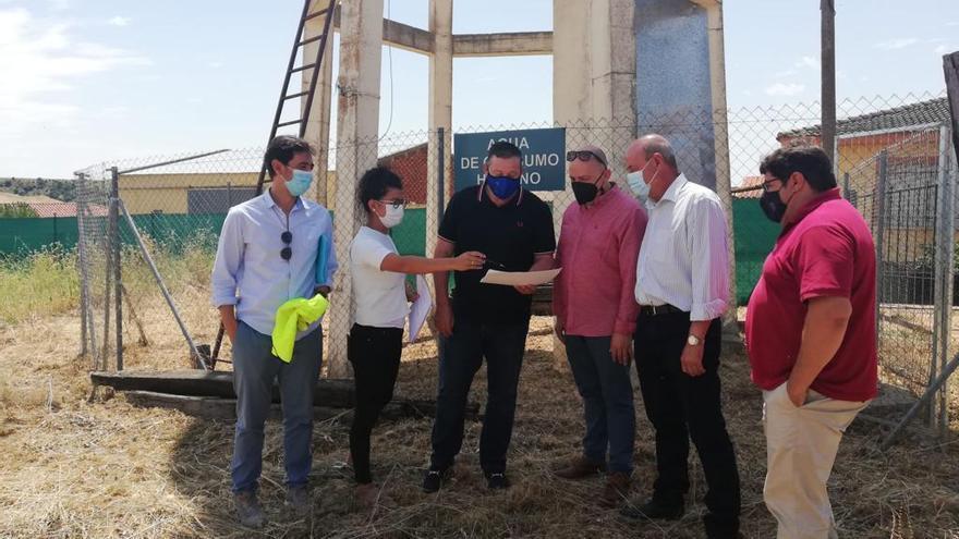 La Hiniesta renovará su red de agua gracias a la Diputación de Zamora