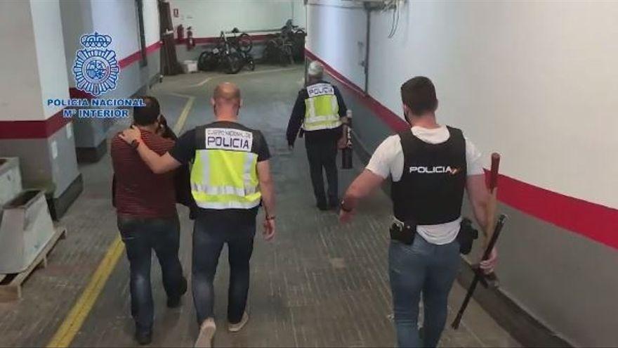 La Policía desmantela tres organizaciones criminales que introducían grandes partidas de droga en Mallorca