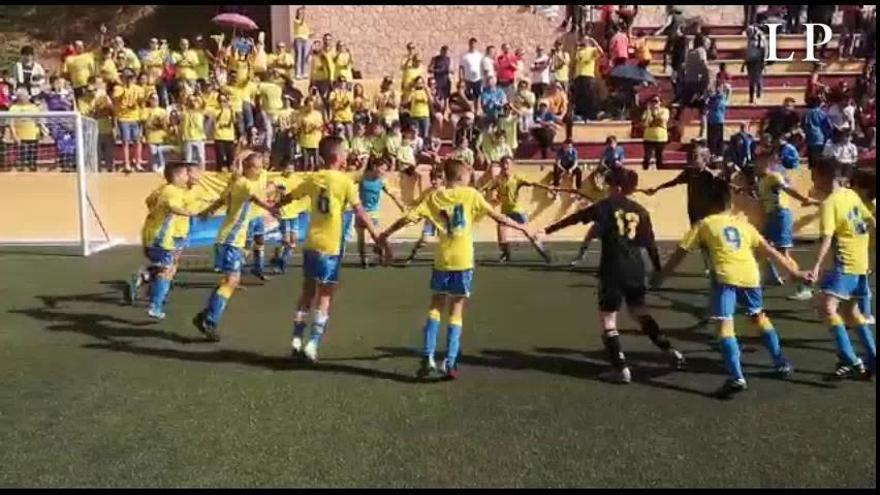 El Alevín A de la UD Las Palmas, campeón de la Islas Canarias Winter Cup