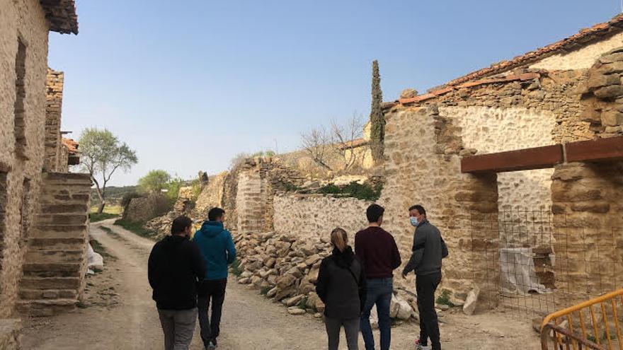 Les Alberedes, un poblado abandonado de Els Ports en el que se proyectan alojamientos rurales