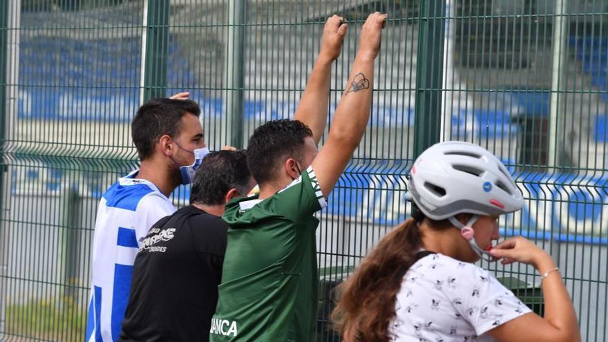 Último entrenamiento del Deportivo antes de la final ante el Fuenlabrada