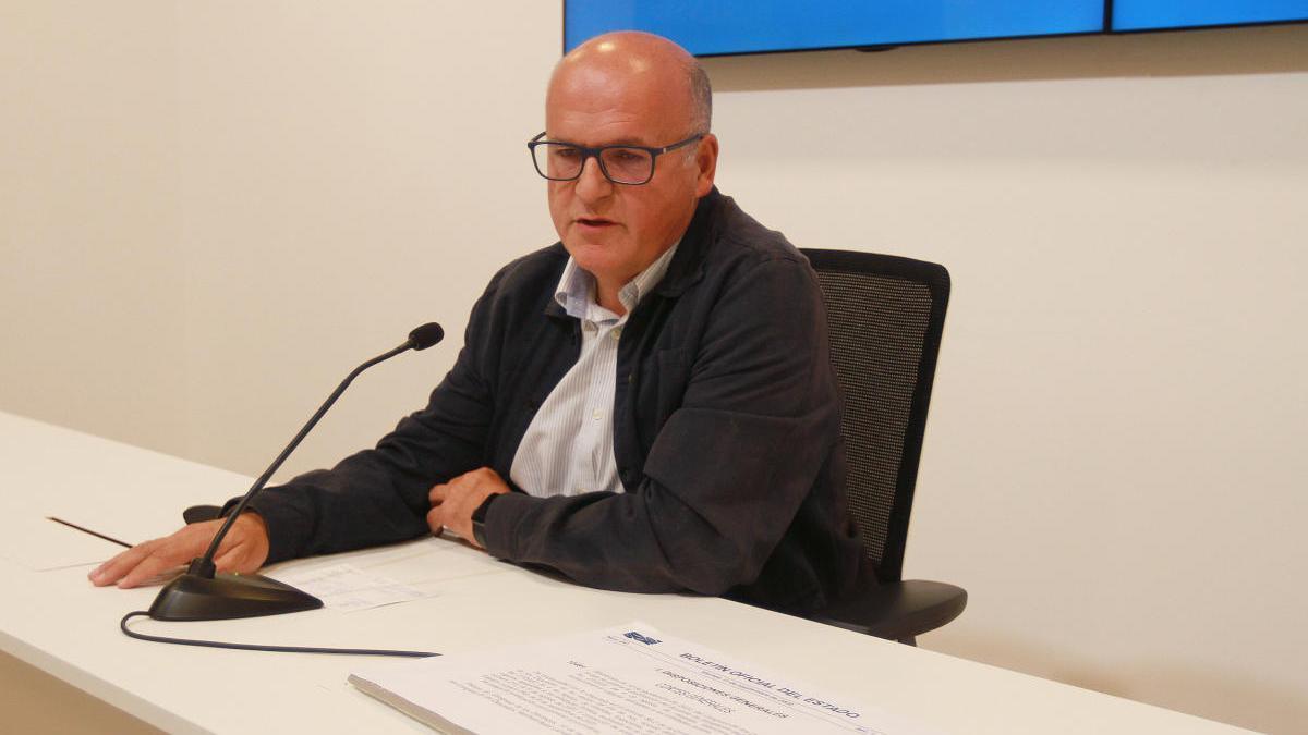 El presidente de la Diputación de Ourense, José Manuel Baltar. // Iñaki Osorio