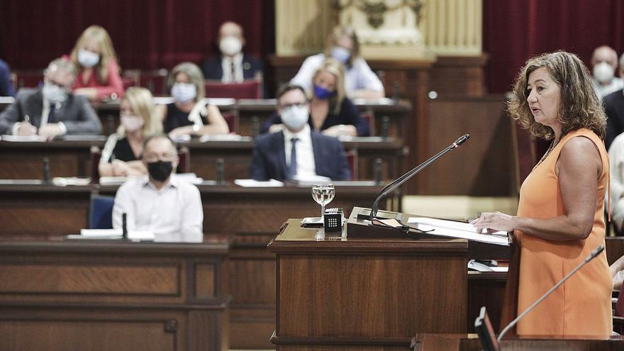 Debate descafeinado | La presidenta Armengol decidió contestar de forma global