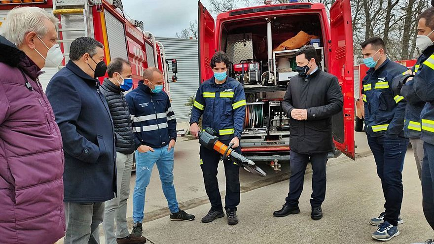 Más herramientas para los bomberos de Aliste