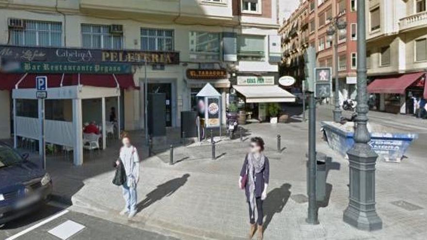 Detenido tras intentar degollar a un desconocido en Valencia