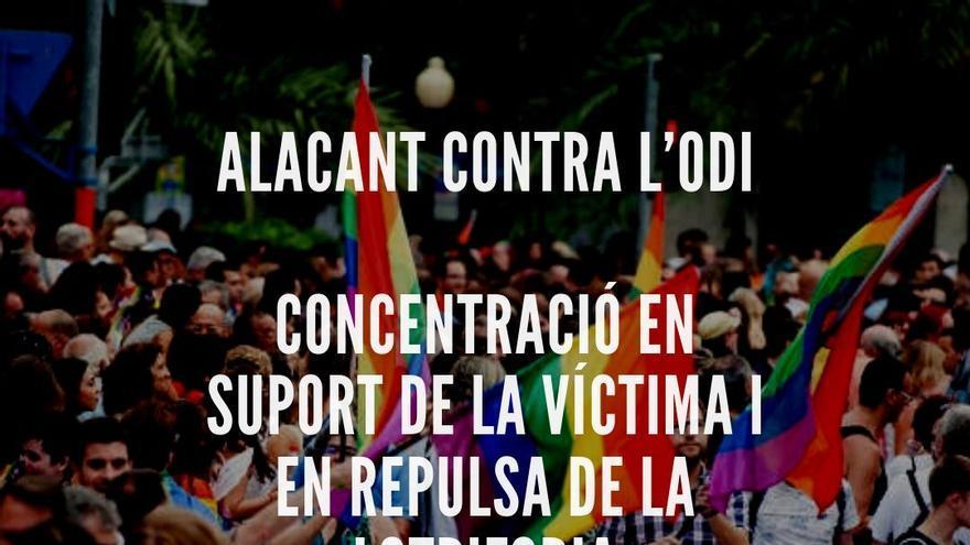 Repulsa de Elche a una agresión homófoba en Alicante