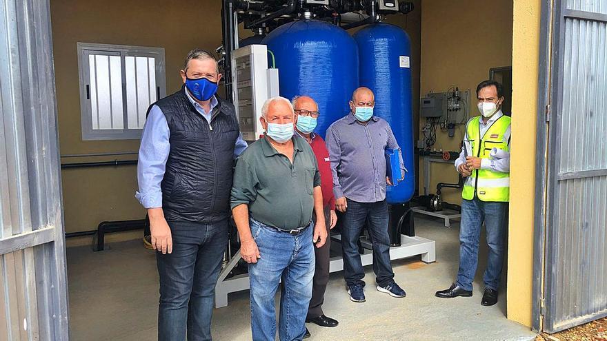 Moldones y Figueruela de Arriba cuentan con agua potable sin hierro y manganeso